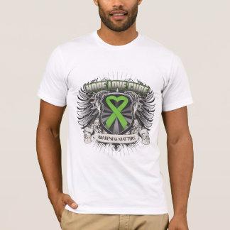 Lyme Disease Hope Love Cure T-Shirt