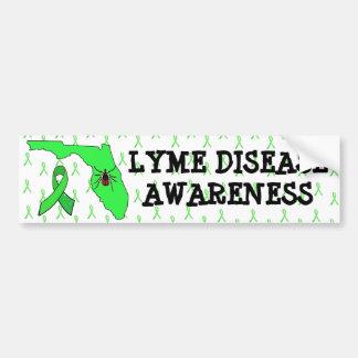 Lyme Disease in Florida Awareness Bumper Sticker