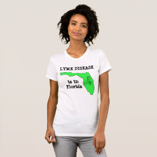 Lyme Disease in Florida Awareness Shirt