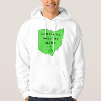 Lyme Disease in Ohio Awareness Ribbon Shirt