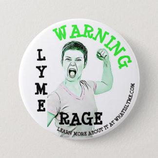 """Lyme Disease, """"Lyme Rage"""" Button"""