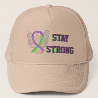 Lyme Disease, Pain, Lupus Awareness Ribbon Caps