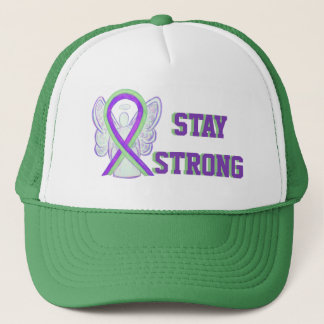 Lyme Disease, Pain, Lupus Awareness Ribbon Hat