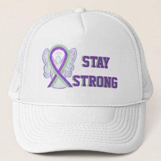 Lyme Disease, Pain, Lupus Awareness Ribbon Hats