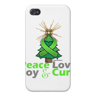 Lyme Disease Peace Love Joy Cure iPhone 4 Cases