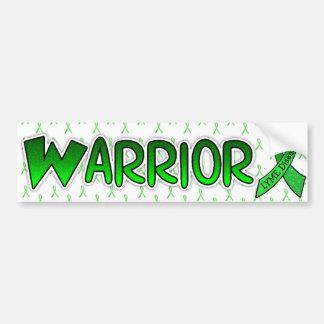 Lyme Disease Warrior Awareness Ribbon Bumper Bumper Sticker