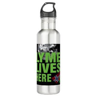 Lyme Lives Here in Norway Water Bottle 710 Ml Water Bottle