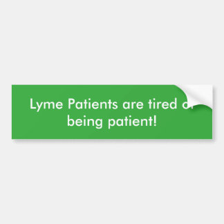 Lyme Patients sticker
