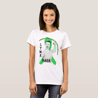 Lyme Rage Lyme Disease Ribbon Shirt