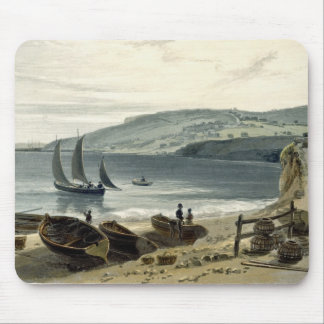 Lyme Regis, from Charmouth, Dorset, from 'A Voyage Mouse Pad