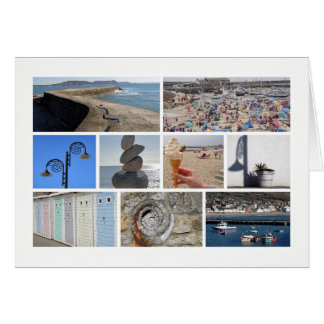 Lyme Regis multi-image Card