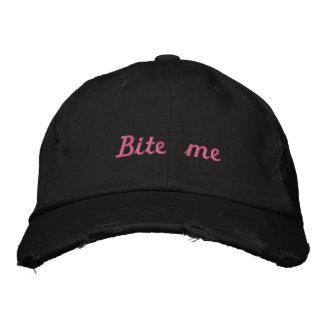 Lyme_Ticked Black Pink Bite Me Hat - Kendelle