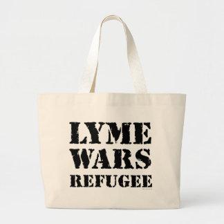 Lyme Wars Refugee Large Tote Bag