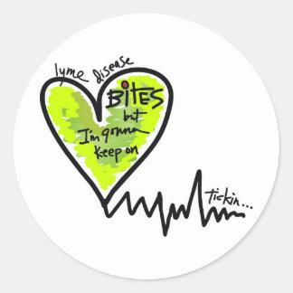 LymeAngels /  Lyme Bites! Round Sticker