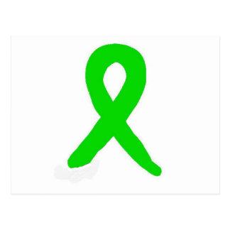 Lyme's disease research and awareness postcard