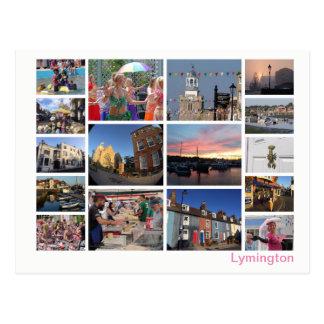 Lymington multi-image postcard