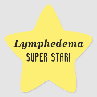 Lymphedema Super Star Stickers