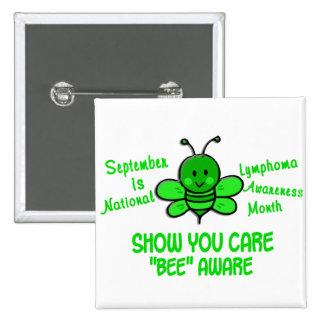 Lymphoma Awareness Month Bee 1 1 Button