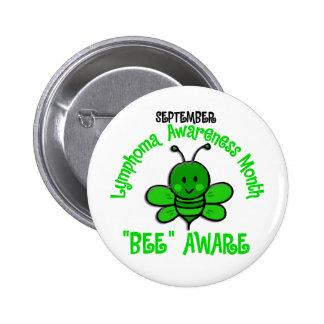 Lymphoma Awareness Month Bee 1 2 Pins