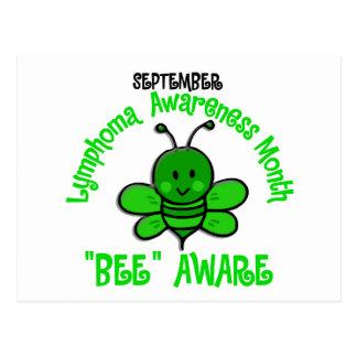 Lymphoma Awareness Month Bee 1.2 Postcard