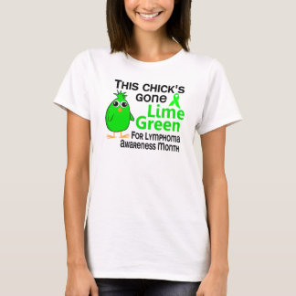 Lymphoma Awareness Month Chick 3 T-Shirt