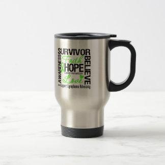 Lymphoma Cancer Survivors Motto Mugs