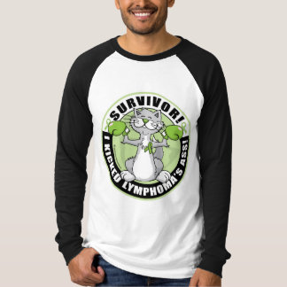 Lymphoma Cat Survivor T-Shirt
