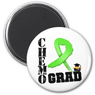 Lymphoma Chemo Grad 6 Cm Round Magnet