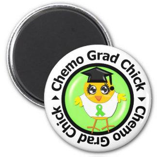 Lymphoma Chemo Grad Chick Refrigerator Magnets