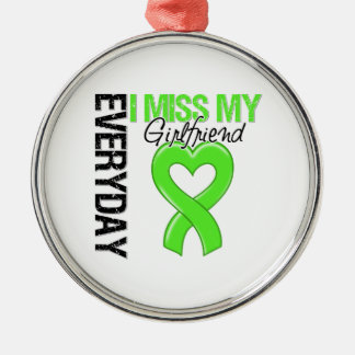 Lymphoma Everyday I Miss My Girlfriend Christmas Ornament