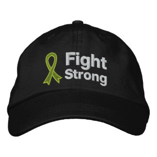 Lymphoma Fight Strong Embroidered Baseball Caps