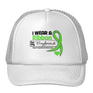 Lymphoma I Wear Lime Green For My Boyfriend Trucker Hat