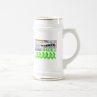 Lymphoma Inspirational Words Coffee Mug