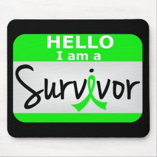 Lymphoma Survivor 24 png Mouse Pad
