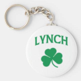 Lynch Irish Basic Round Button Key Ring