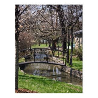 Lynchburg TN limestone creek Postcard