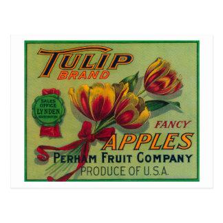 Lynden, WashingtonTulip Apple Crate Label Postcard