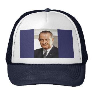 Lyndon B. Johnson 36th President Cap