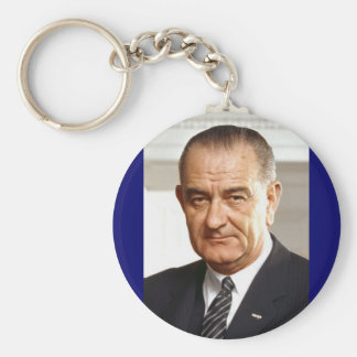 Lyndon B. Johnson 36th President Key Ring