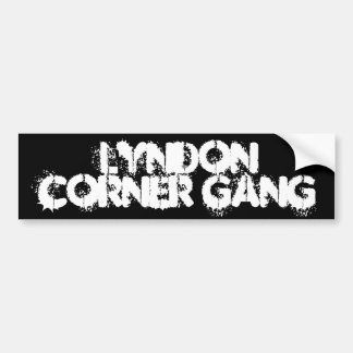 Lyndon Corner Gang Bumper Sticker