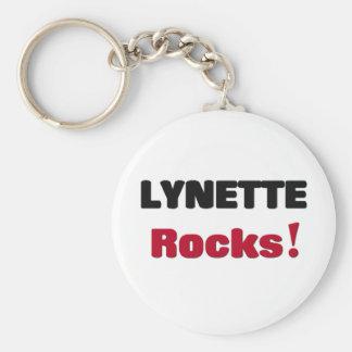 Lynette Rocks Basic Round Button Key Ring