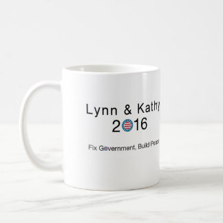 Lynn and Kathy 2016 Coffee Mug
