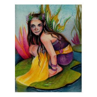 Lynsye Faerie w Locket Postcard