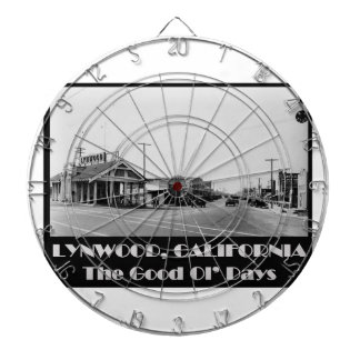 Lynwood California Back When Dartboard