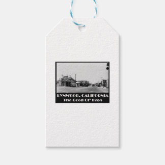 Lynwood California Back When Gift Tags