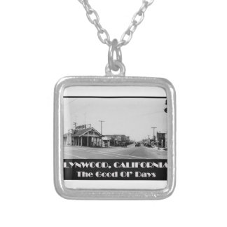 Lynwood California Back When Silver Plated Necklace