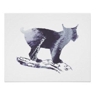 Lynx Art Poster