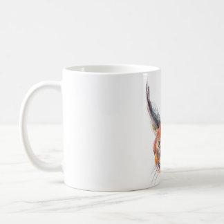 Lynx drawing mug