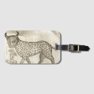 Lynx Luggage Tag