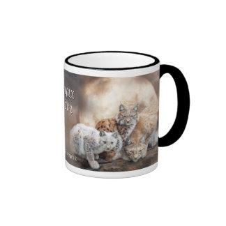 Lynx Moon Art Mug